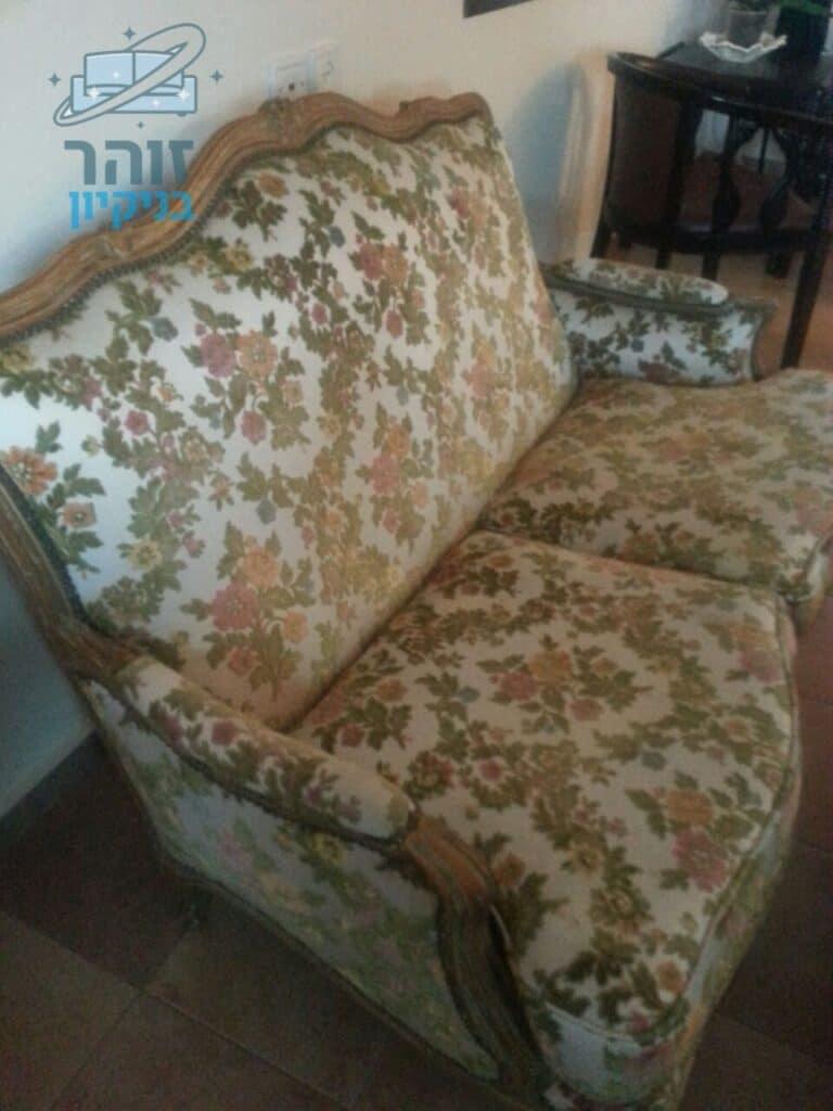ריפוד מחדש לכורסא דגם בוכרי
