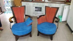 ריפוד כיסאות סבתא עתיקות