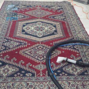 ניקוי שטיח עבודת מכונה של שטיחי כרמל