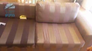 ניקוי ריפודים לספה זוגית