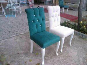 כיסאות אוכל אחרי חידוש וריפוד מחדש
