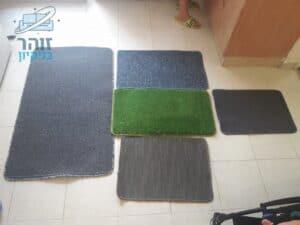 ניקוי כמה שטיחים שונים בבית מאבק ולכלוך קשה