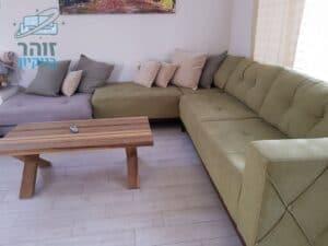 ניקוי ספה באשדוד ברובע ט - ספה פינתית