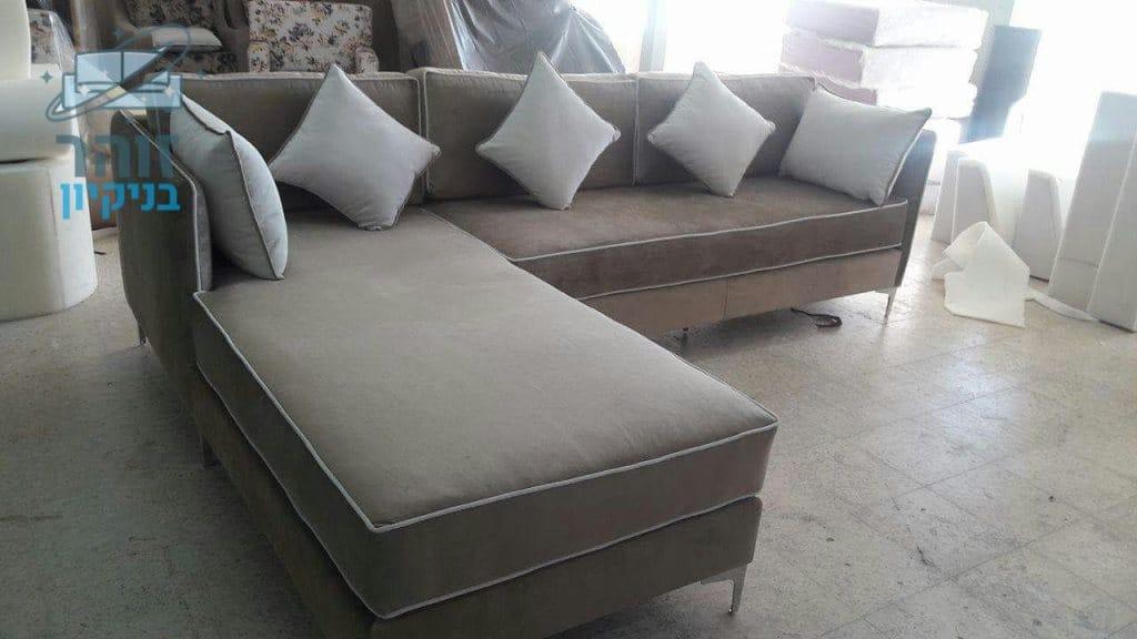 ניקוי ספה פינתית מבד בשכונה ג בבאר שבע