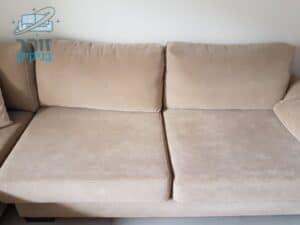 ניקיון לספה 2 מושבים בנהריה