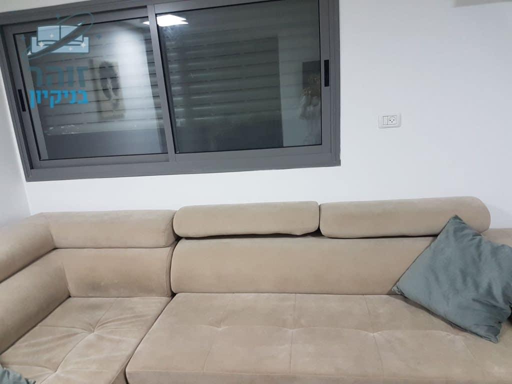 ניקוי ספה מבד בקרית אתא שכונת קרית נחום