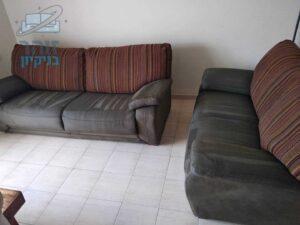 ניקוי מערכת סלונים ישנה בצפון תל אביב שכונת רמת אביב