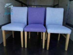 ניקוי כסאות בד של פינת אוכל