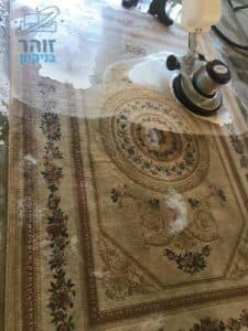 ניקוי מאסיבי לשטיח עם קרדית האבק,עם ניחוח נעים ומרענן