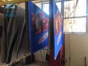 שטיחים של חדרי ילדים לאחר ניקוי בהרצליה בשכונת נווה אמירים