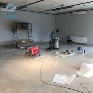 ניקיון איכותי ומקצועי בסטודיו אחרי סיום שיפוץ