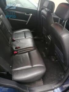 רכב משפחתי קיה לאחר ניקוי ריפודי עור מכתמי קיא ונס קפה