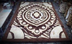 ניקוי שטיחי צמר מעוצבים בבית פרטי ברמת גן