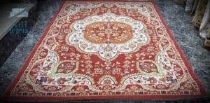 ניקוי שטיח עבודת יד של הסלון בבית בחולון